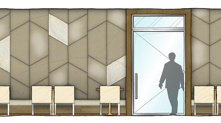 Marc Michaels Restaurant Design Drawing