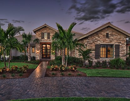 Tuscan Design Reinvented Model Home
