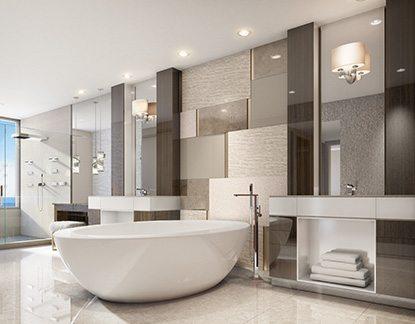 Marc-Michaels Commercial Design Bathroom
