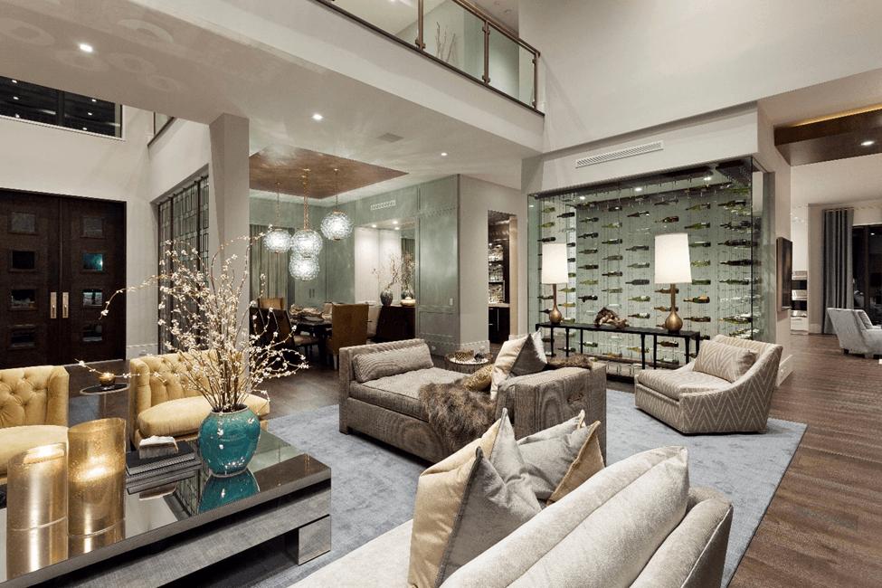 Modern Luxury Holiday Interior Design Living Room