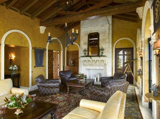 Villas Casa Casuarina Luxury Sitting Room By Marc-Michaels Interior Design