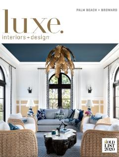 Luxe. magazine cover